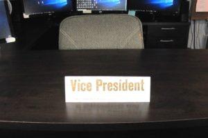 vice president's desk